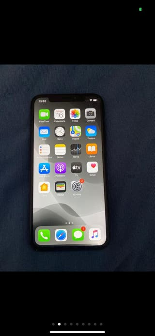 IPhone X negro 64gb