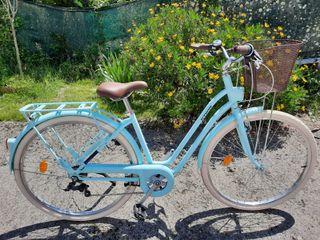 Bicicleta retro de paseo cuadro bajo Talla S/M