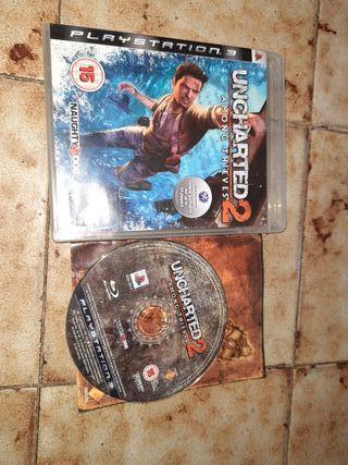 uncharted 2 videojuego ps3