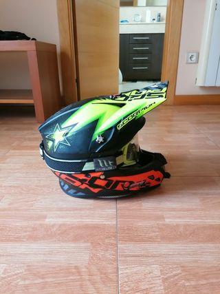 Casco motocross/enduro