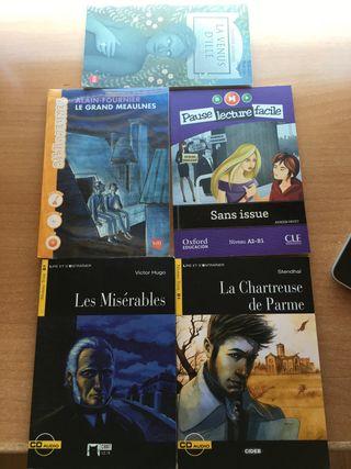 LIBROS de lectura FRANCÉS Nivel B1