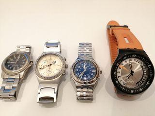 relojes Swatch y Swiss Army