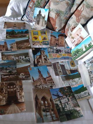 postales vintage de España