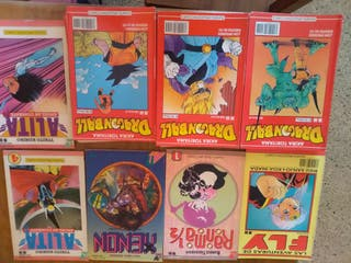 Antigua colección de cómics.