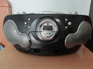 Radio CD/MP3 portátil Mx Onda