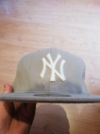 Gorra gris **New York Yankees**