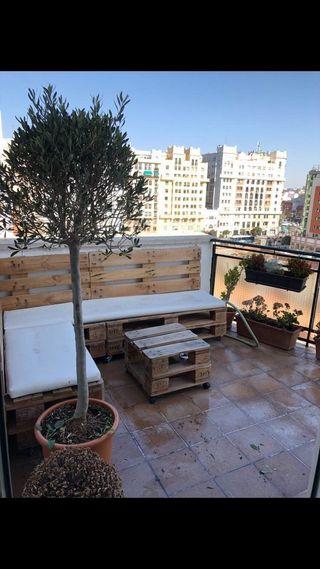 Muebles terraza pallets