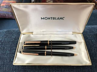 Pluma, bolígrafo y portaminas Montblanc