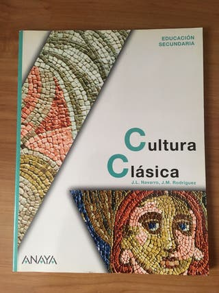 Cultura clásica Anaya