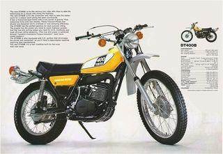 Yamaha DT 400 B