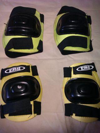 rodilleras y coderas para patines, skate,