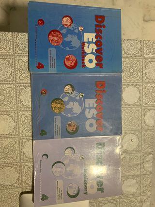 "Libros de texto ""Inglés"" (cuarto de ESO)."