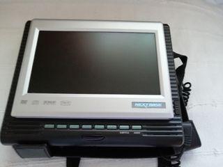 Reproductor DVD portátil reposacabeza coche