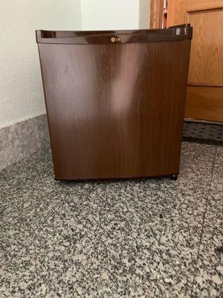Frigorífico mini LG marrón