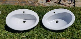 2 sinks Roca