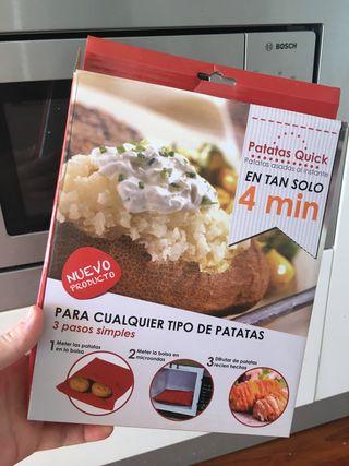 Bolsa asadora de patatas al micro. NUEVA