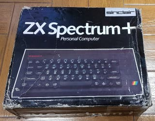 Ordenador SINCLAIR ZX SPECTRUM + Plus