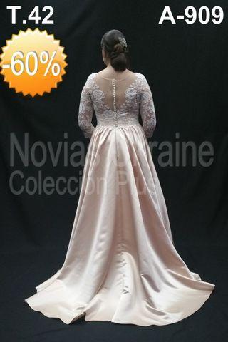 T.44. Vestido de novia oferta