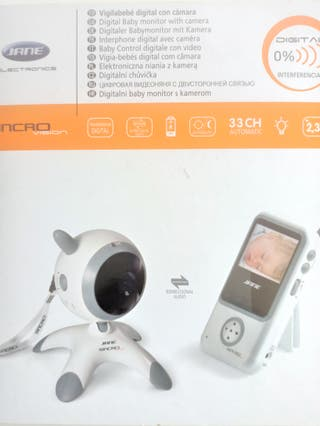Vigilabebé digital con cámara Jané