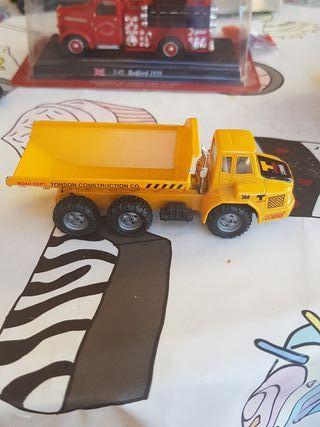 Miniatura camión de obras Tonson