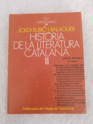 Historia de la literatura catalana II. Libro