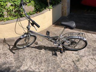 Bicicleta plegable Monty Logik aluminio