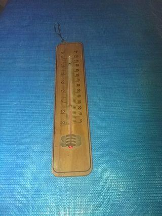 termómetro de paret