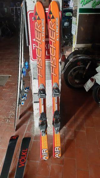 Esquís de montaña Fischer 165