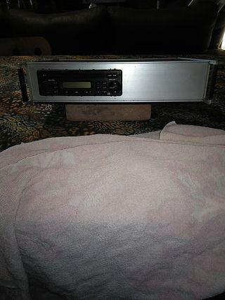maleta portátil para CD radio cassette