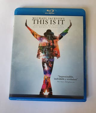 Blu ray This is it Michael Jackson