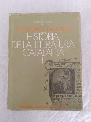 Historia de la literatura catalana I. Libro