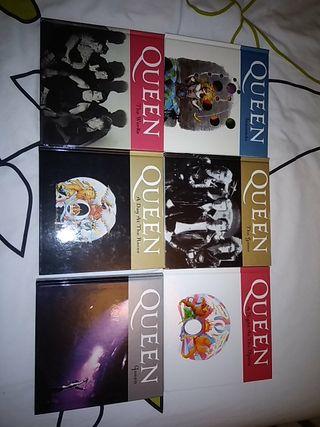 QUEEN colección de Libros-CD