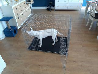 jaula para perro mediano-grande