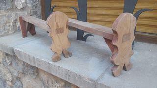 Patas soporte de mueble de madera