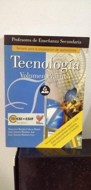 Tecnología Volumen práctico