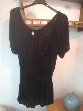camiseta de bambú la talle único.