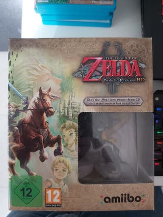 Zelda Twilight Princess HD coleccionista de Wii u