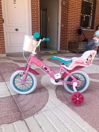 Bicicleta minnie.