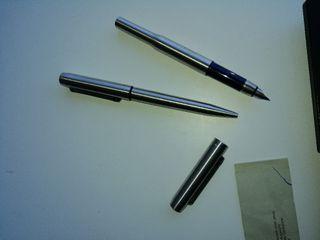 pluma + bolígrafo Parker