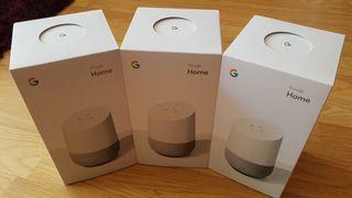 Google Home nuevos