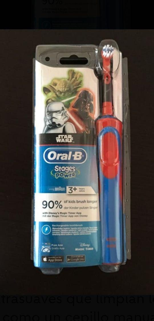 2 cepillos eléctricos Oral-B Stages power braun