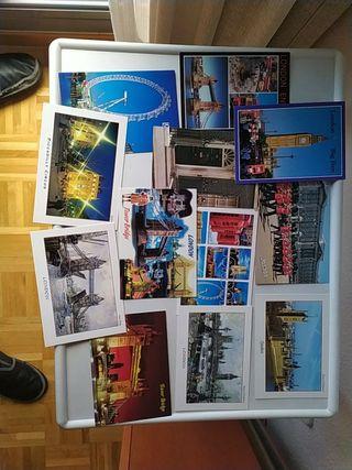 colección postales antiguas Londres London