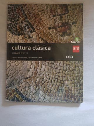 Libro cultura clásica 2eso SM