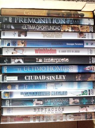 Lote DVD PELICULAS