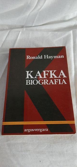 Libro Biografía de kafka