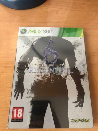 Resident Evil 6 Métalica Xbox 360