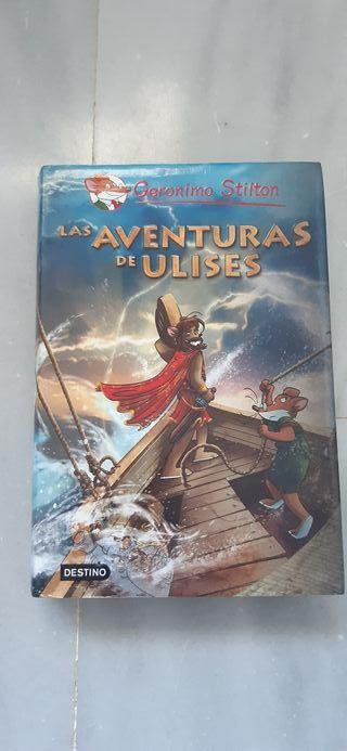 Libro infantil Geronimo Stilton Aventuras Ulises