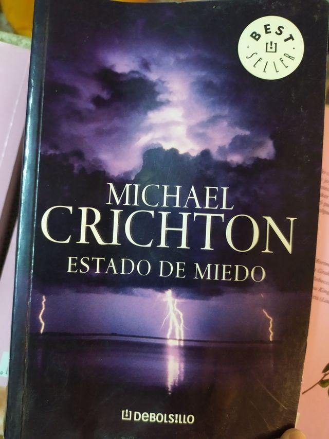 """Libro: """"Estado de miedo"""""""