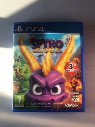 Spyro+Uncharted+Dying light+ AC rogue y AC unity