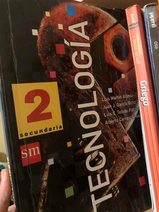 Libro Tecnología 2º secundaria - sm
